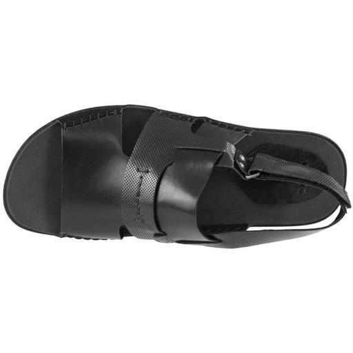 Czarne Sandały Płaskie Nik 06-0347 45 9580509688 Obuwie Męskie Męskie XY QWXHXY-2