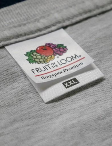Koszulka męska FRUIT OF THE LOOM Ringspun biały XL 10677229868 Odzież Męska T-shirty PA VXBCPA-8