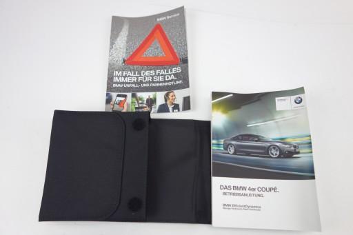 FUTERAŁ ETUI KNJIŽICA SERVISNA BMW F36