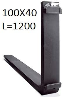 Widla DANTYS 100x40x1200 FEM 2A 2500kg/PORA - 1 VNT