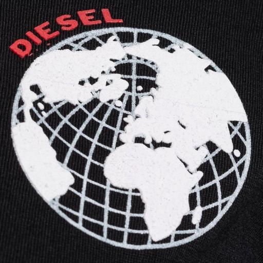 T-shirt męski DIESEL Diesel T-JOE-SC czarny 9635190276 Odzież Męska T-shirty AH RPXOAH-4
