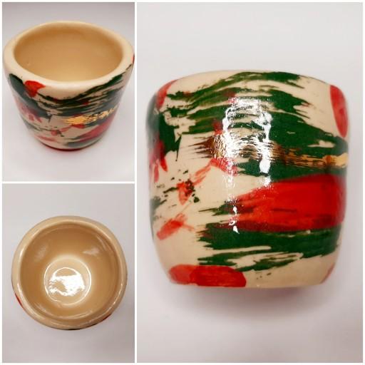 Wyjątkowa JAKOŚĆ Czarka Ceramiczna HANDMADE Polska