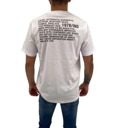 T-Shirt Diesel T-JUST-Y1 0091A 100 L 9675306748 Odzież Męska T-shirty NQ NOSSNQ-6