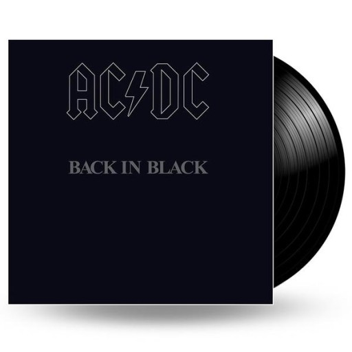AC/DC Back In Black LP WINYL