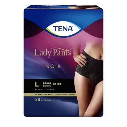 Bielizna chłonna TENA Lady Pants Plus Noir L 8szt.