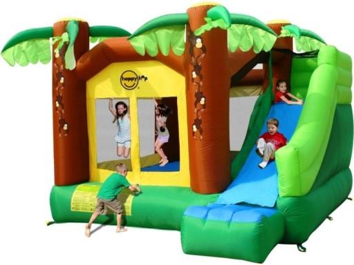 Dmuchany Plac Zabaw Dla Dzieci Happyhop Dzungla 9467249950 Allegro Pl