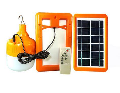 Żarówka LED Panel solarny Zestaw fotowoltaiczny S