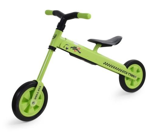 Rowerek biegowy składany TCV-T700 zielony