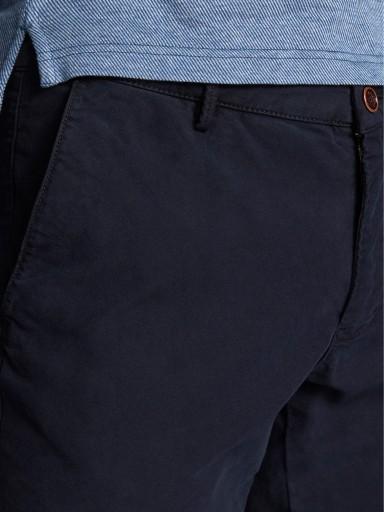 MASSIMO DUTTI GRANATOWE KLASYCZNE SPODNIE (38) 10763872638 Odzież Męska Spodnie XN CBJMXN-2