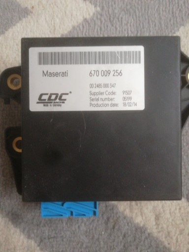 Maserati - THE BLOCK, CONTROLLER DRIVEN AWD 670008256