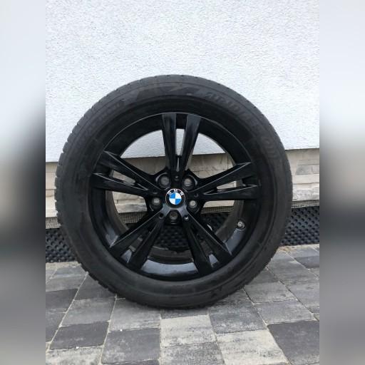 KOMPLEKTAS RATAS ZIEMINIAI do BMW X1