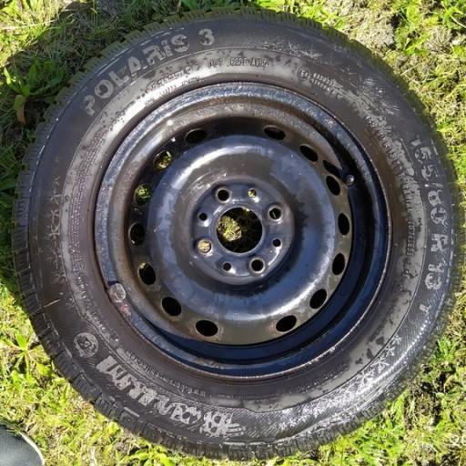 THE WHEEL STEEL FIAT PANDA 155/80R13 Z9T BARUM SOLARIS 3