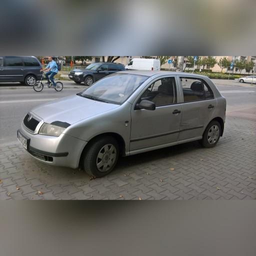 AUTOMOBILIS <b>skoda</b> <b>fabia</b> <b>6Y</b> 1,4 KATALIZATORIUS 2002