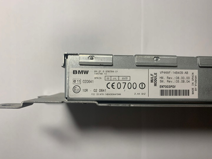 E60 mulf bmw BMW Bluetooth
