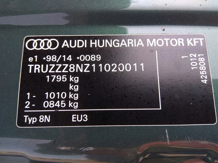 двигатель 1.8 20v турбо ary 180km audi vw skoda seat16 - фото