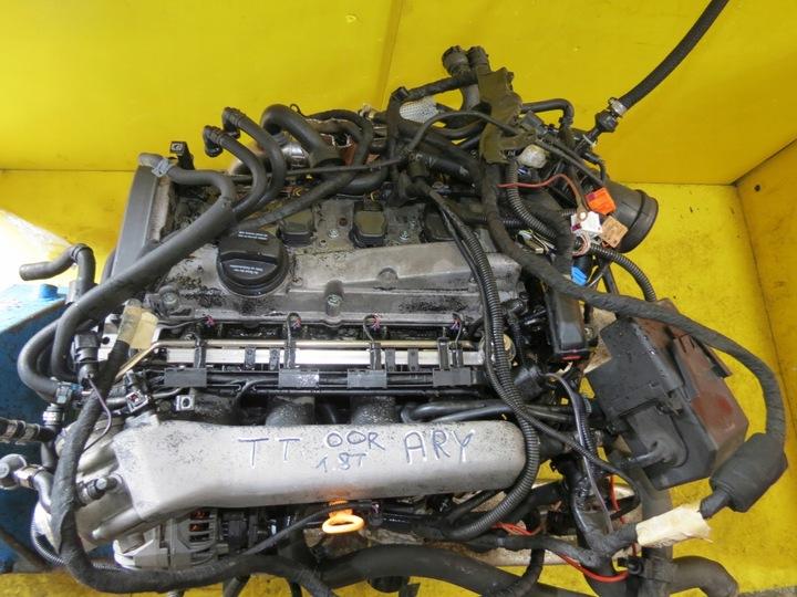 двигатель 1.8 20v турбо ary 180km audi vw skoda seat1 - фото