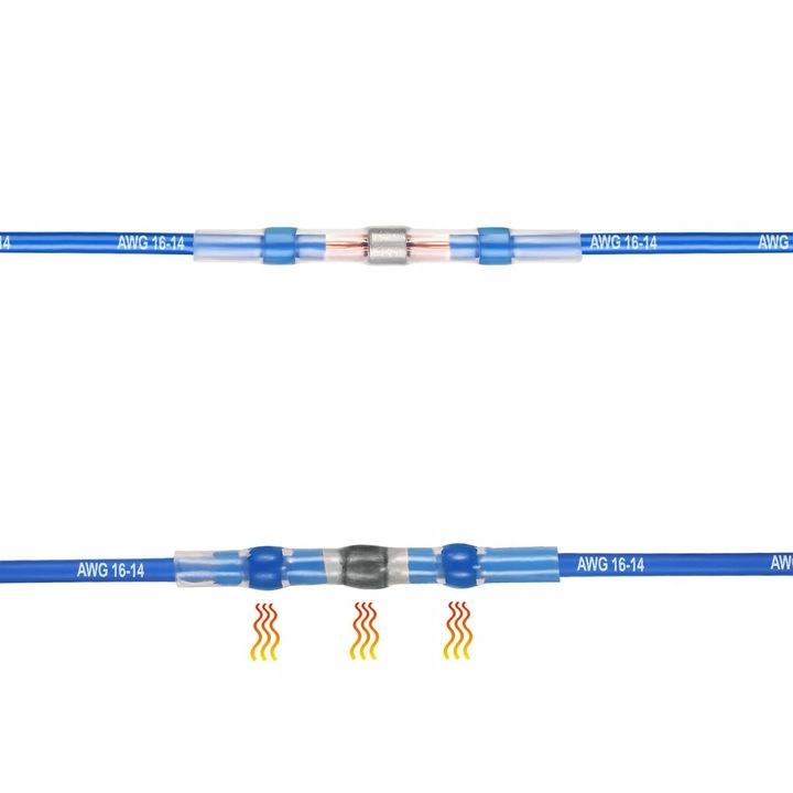 Трубка termokurczliwa з cyna szybkozlaczka 2,50 mm2 - фото 3