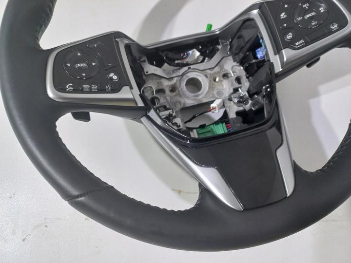 Б/У  Honda crv cr-v руль натуральная кожа лопатки кожа оригинальная, Купить в Украине