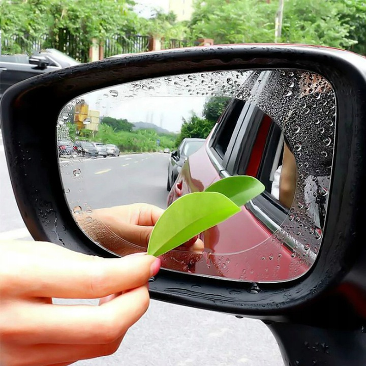 2x folia наклейка водостійка на дзеркало deszcz, Ціна