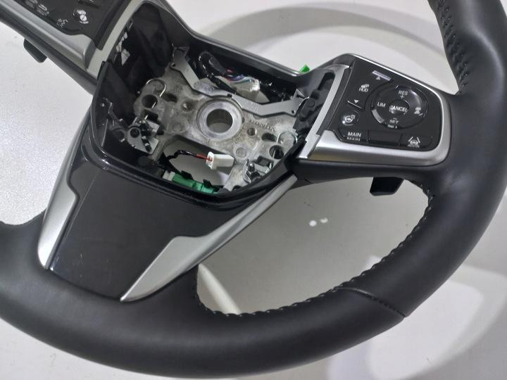 Б/У  Honda crv cr-v руль натуральная кожа лопатки кожа оригинальная, Недорого