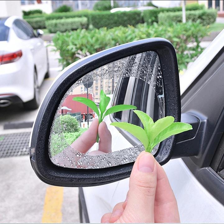 2x folia наклейка водостійка на дзеркало deszcz, Фото