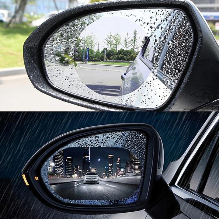 2x folia наклейка водостійка на дзеркало deszcz, Купити в Україні