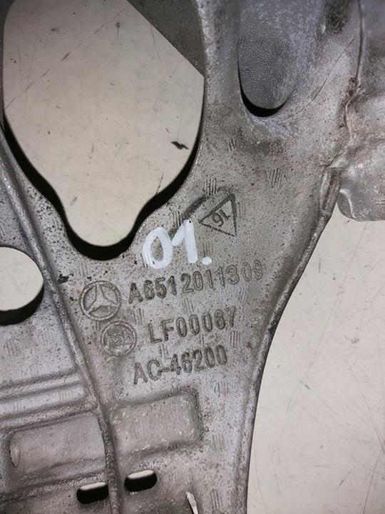MERCEDES W204 W212 ŁAPA SILNIKA A651201130S 2