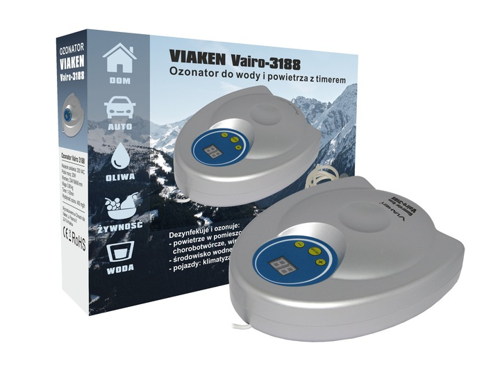 Генератор озона озонатор GL-3188 400 мгh ПРОДВИЖЕНИЕ доставка из Польши Allegro на русском