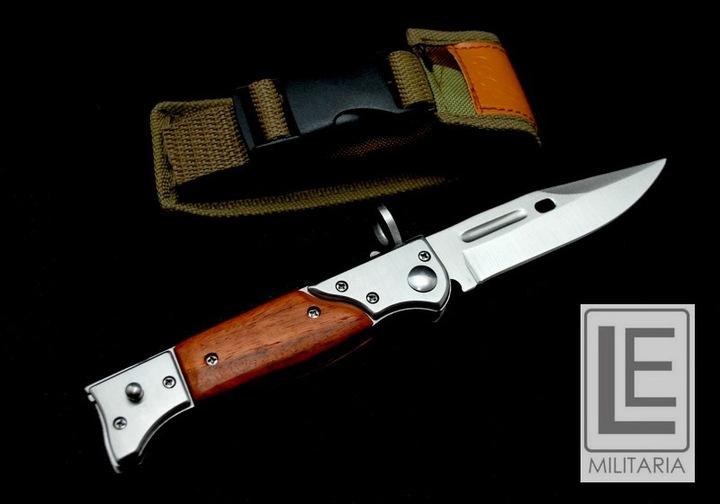 ШТЫК АК-47 нож пружинный чехол 22см СУПЕР доставка из Польши Allegro на русском