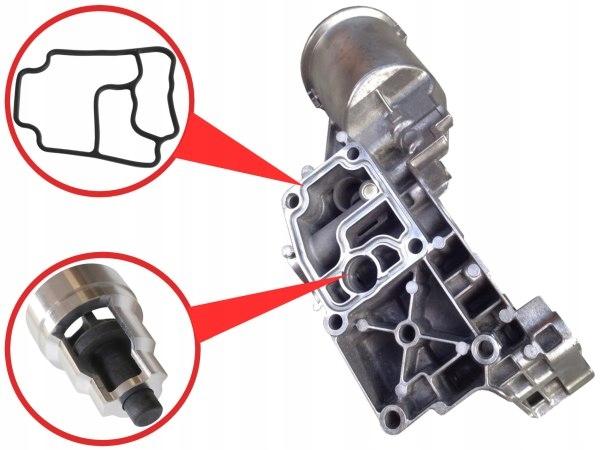 клапан уплотнитель фильтр масла до bmw m52b28 m549 - фото