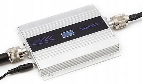 Усилитель Сигнала Диапазона GSM Антенна 400м2 Работает доставка из Польши Allegro на русском