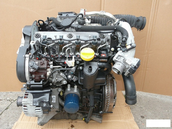 двигатель 1.9 dci cdti renault trafic opel vivaro3 - фото