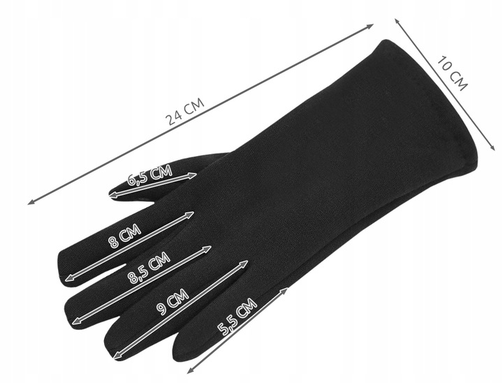 Теплые Перчатки Женские Сенсорные на Телефон 2 в 1 доставка из Польши Allegro на русском