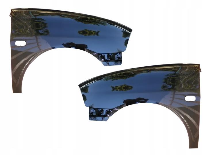 крыло seat ibiza/cor. 6l lc9z левый +  правый1 - фото