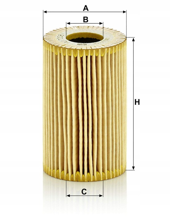 фильтр масла mann-filter hu 7008 c vw seat skoda3 - фото