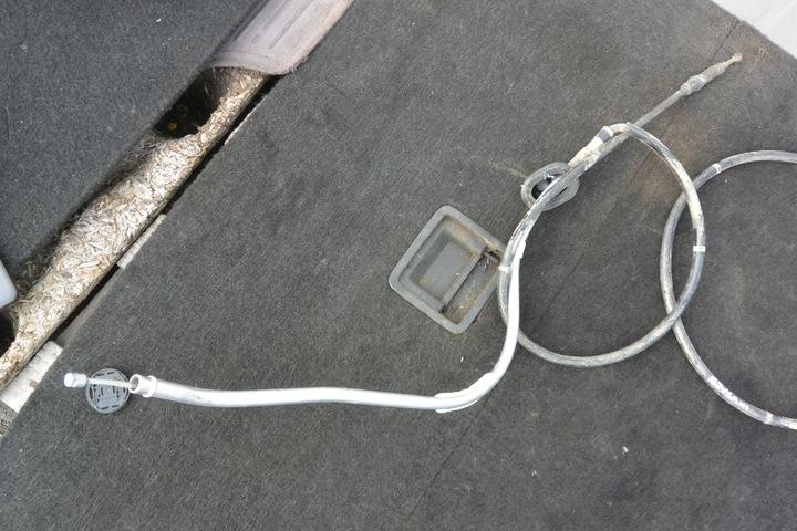 магистраль трос тормоза ручного комплект vw passat b7 usa2 - фото