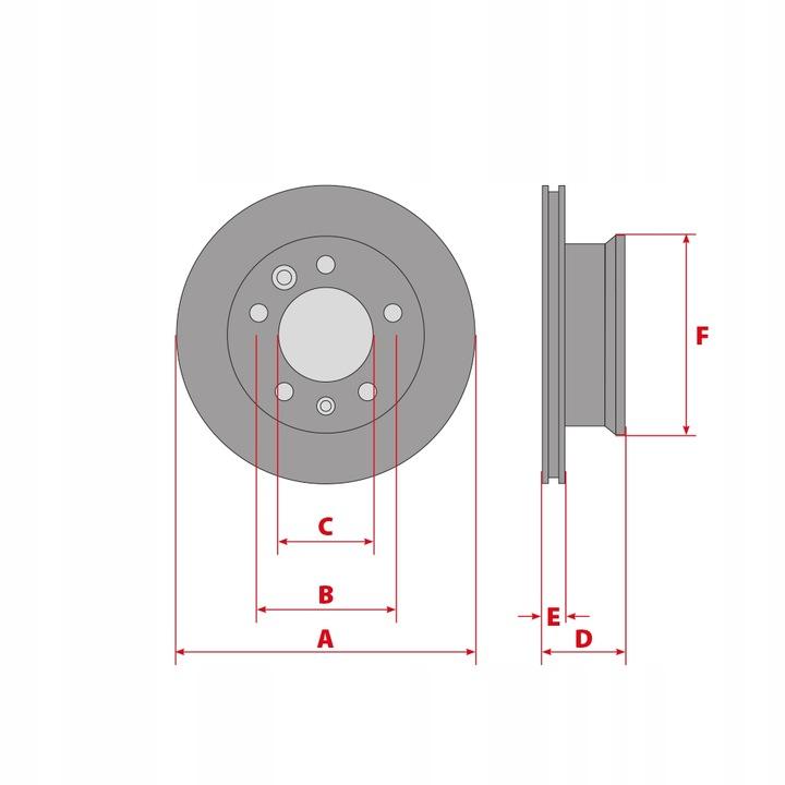 колодки диски 300 перед до ford mondeo iv 2007-4 - фото