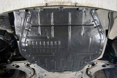 kia ceed 09- i i30 12- защита мотора заклёпки4 - фото
