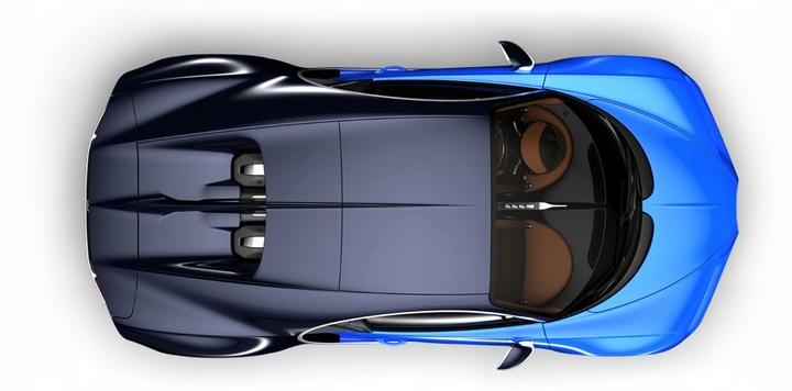 bugatti chiron крыша roof карбон new новый unikat11 - фото