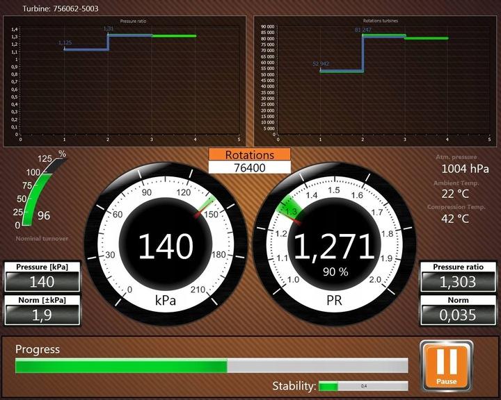 турбина golf iv audi a3 octavia 1, 9 tdi 90-110-1155 - фото
