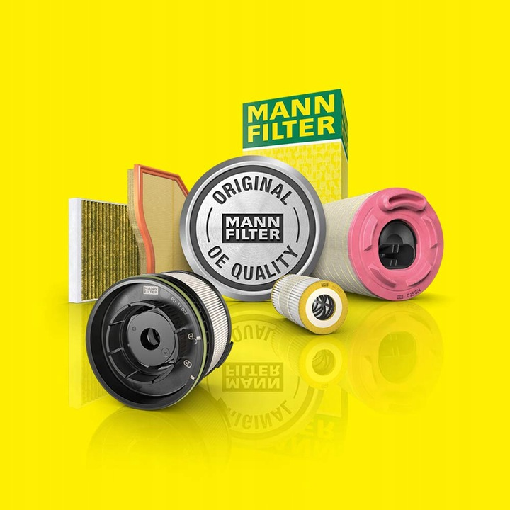фильтр масла mann-filter hu 7008 c vw seat skoda5 - фото