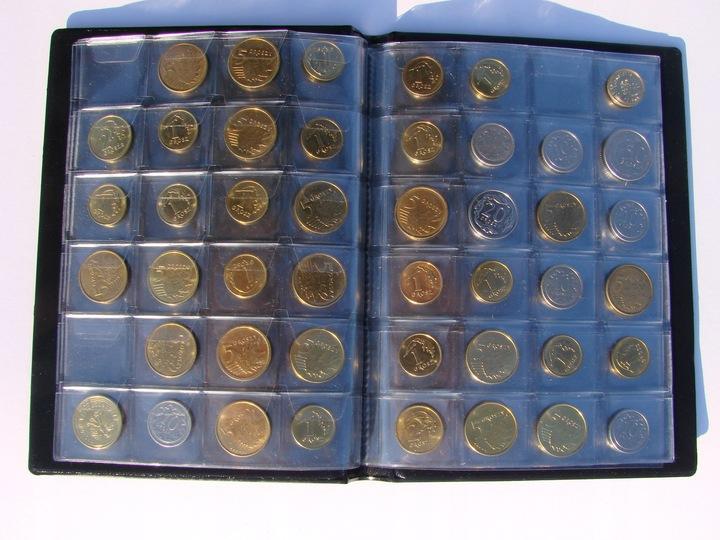 ЭЛЕГАНТНЫЙ КЛАСТЕР справочник 192 монеты NEW доставка из Польши Allegro на русском