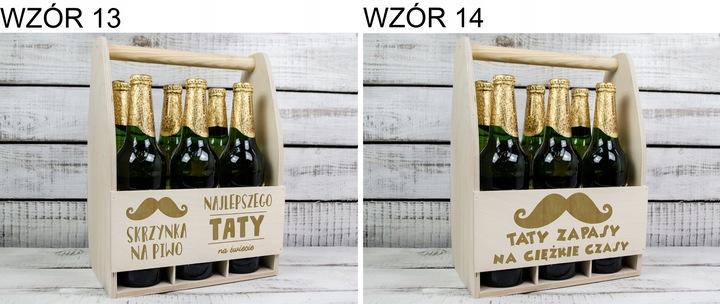 ЯЩИК-ПЕРЕНОСКА НА ПИВО ДЛЯ ПАПЫ, ОТЦА ПОДАРОК доставка из Польши Allegro на русском