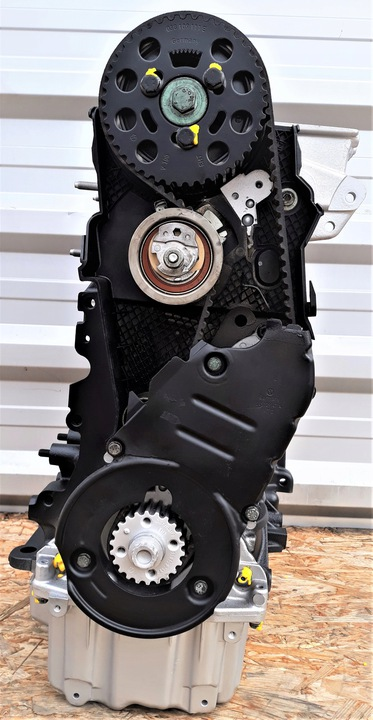 двигатель bxe 1.9 tdi 105km golf touran seat altea6 - фото
