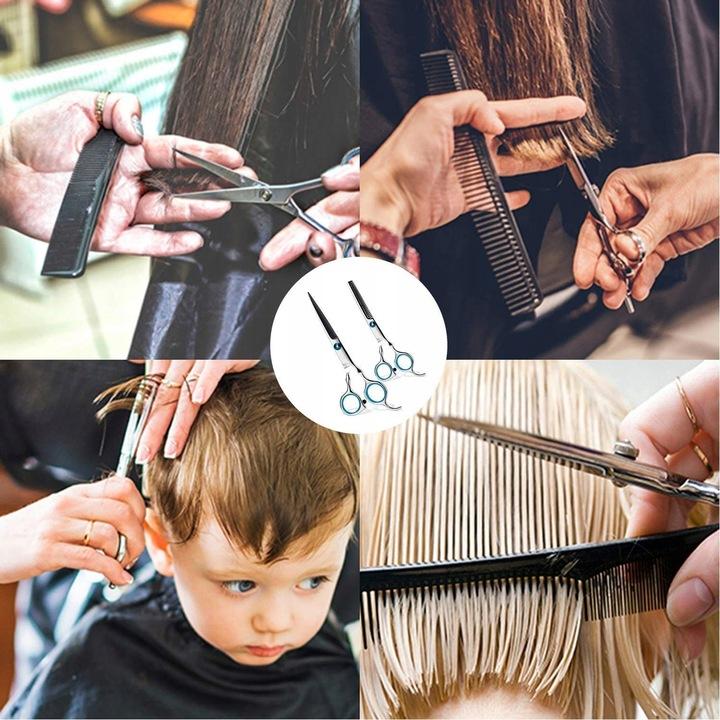 Ножницы парикмахерские degażówki комплект триммера доставка из Польши Allegro на русском