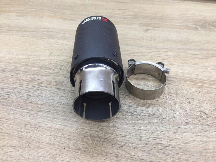 наконечник выхлопной выхлопа akrapovic renault rover7 - фото