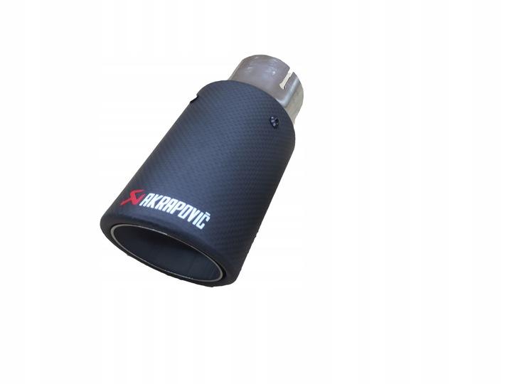 наконечник выхлопной выхлопа akrapovic mitsubishi1 - фото
