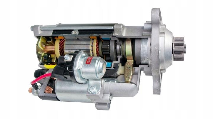 стартер 3m5t-11000-cf ford 1.6 tdci оригинал7 - фото