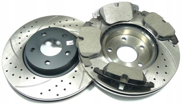 колодки диски 300 перед до ford mondeo iv 2007-1 - фото