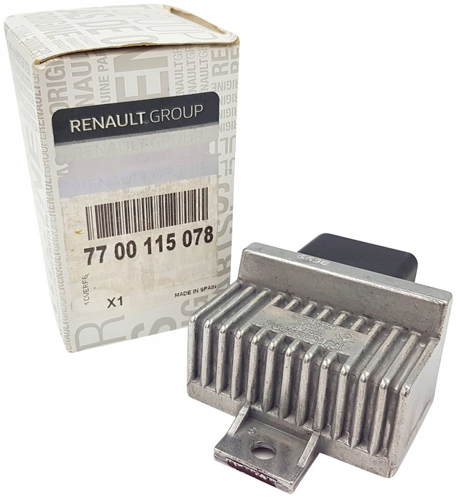 RENAULT РЕЛЕ СВЕЧЕЙ НАКАЛИВАНИЯ RENAULT CLIO II 1.5 DCI